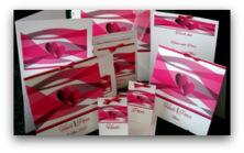 Modernes Farbenspiel pink