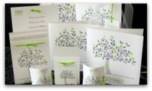 Baum grün & grau