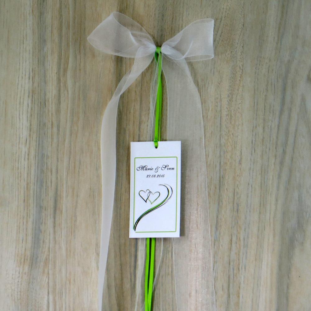 Autoschleife Harmonie grün