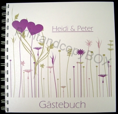 "Gästebuch ""Gräser Trend"