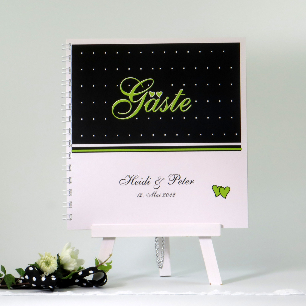 "Gästebuch ""NEIN"" grün"