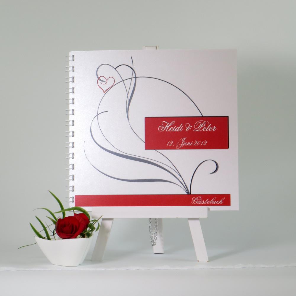 "Gästebuch ""Red Style"""