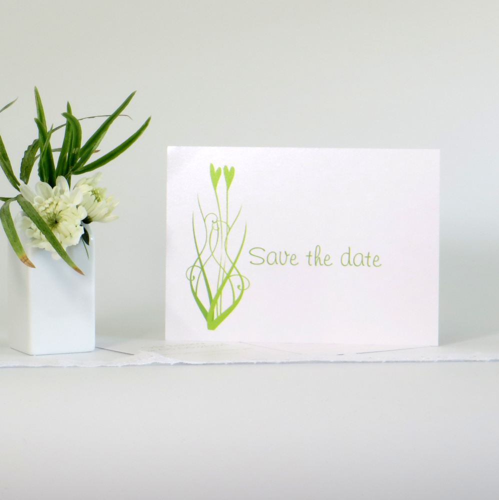"""Save the Date """"Happy hearts"""""""