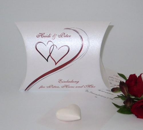 """Hochzeitseinladungsbox """"Harmonie"""""""