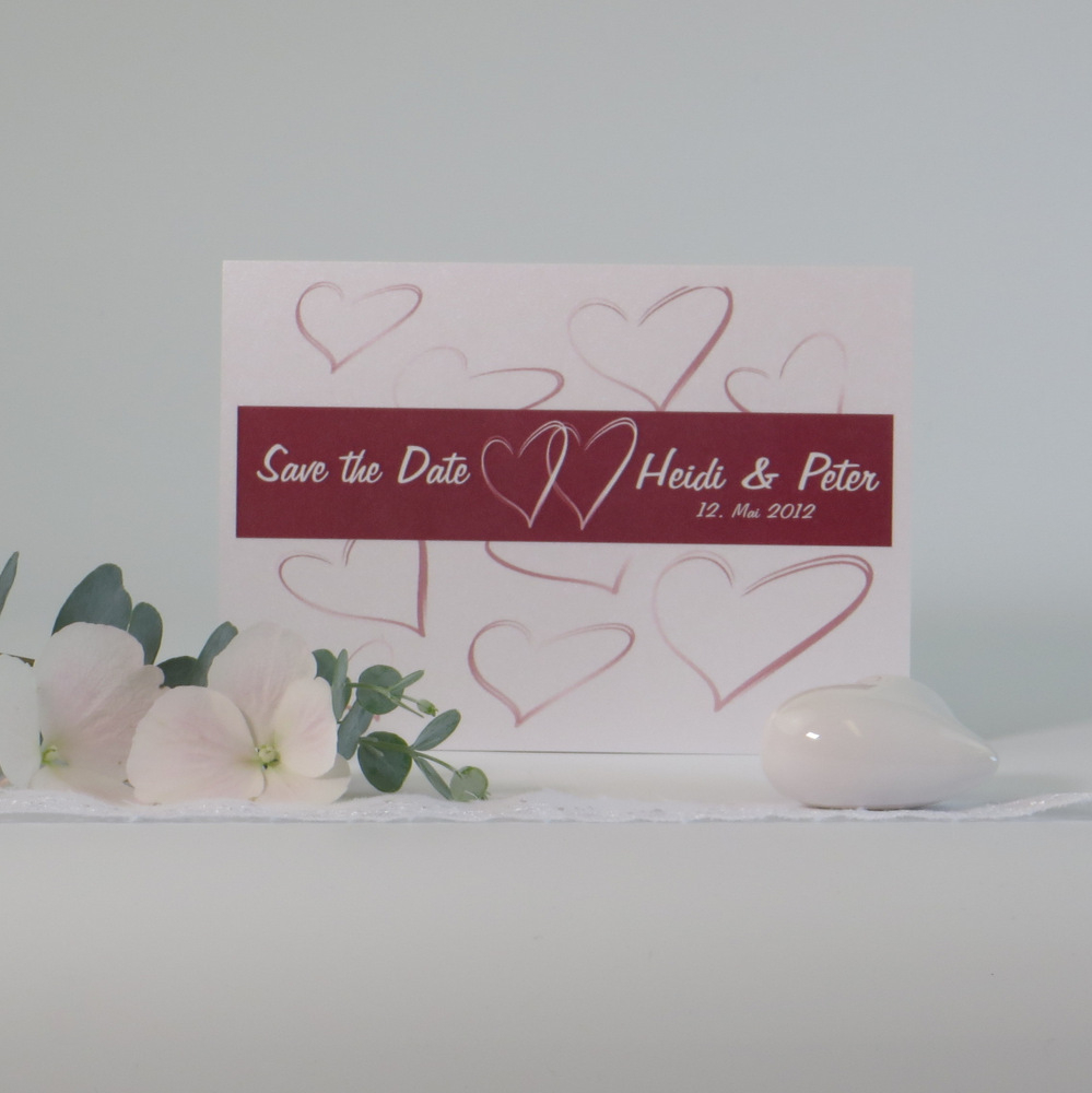 """Save the Date """"Letter"""""""