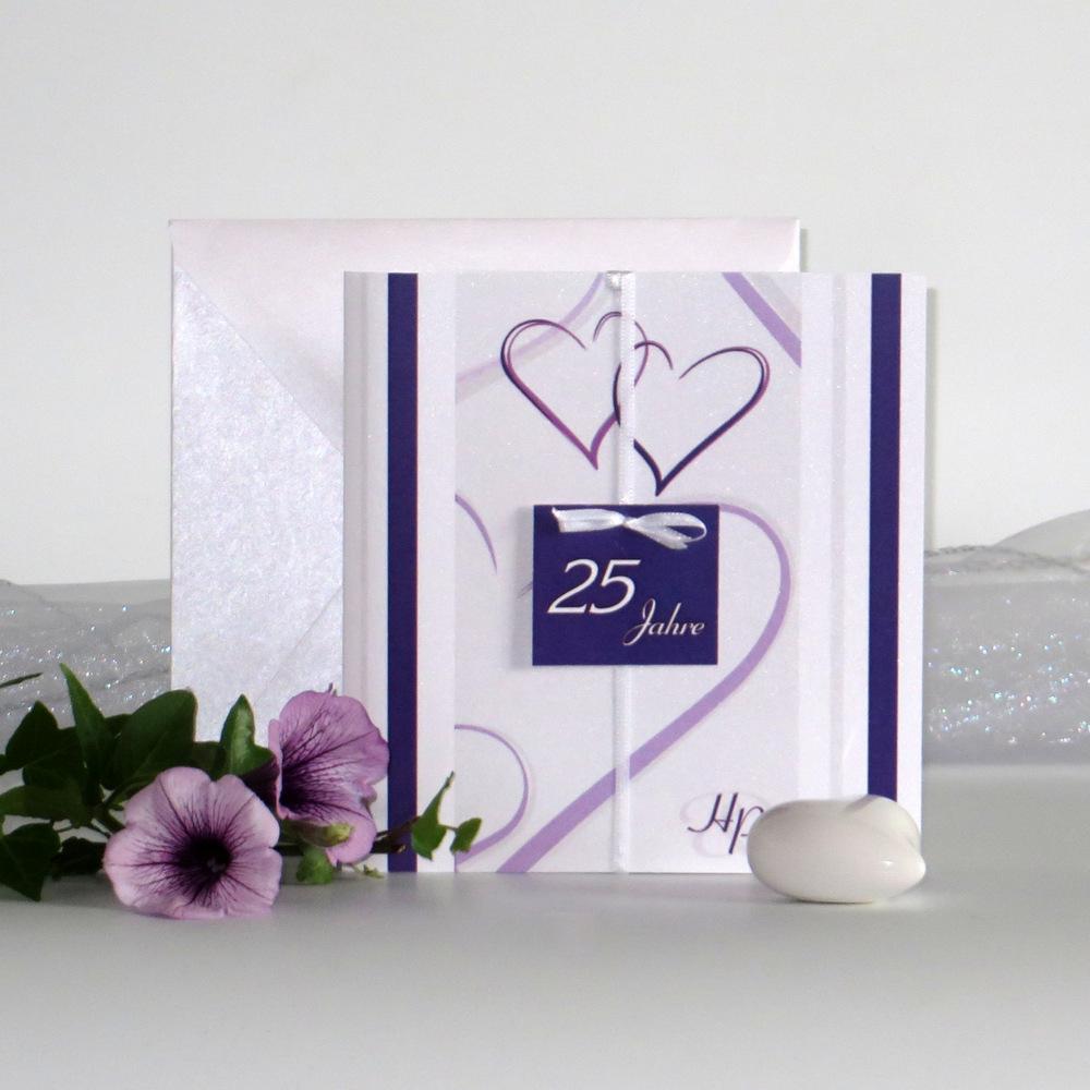 """""""25 Jahre - ich will"""" lila"""