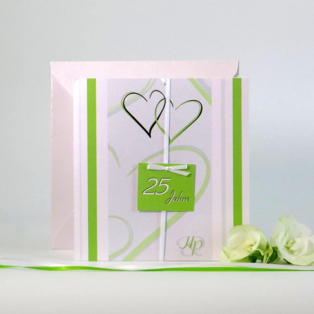 """""""25 Jahre - ich will"""" grün"""