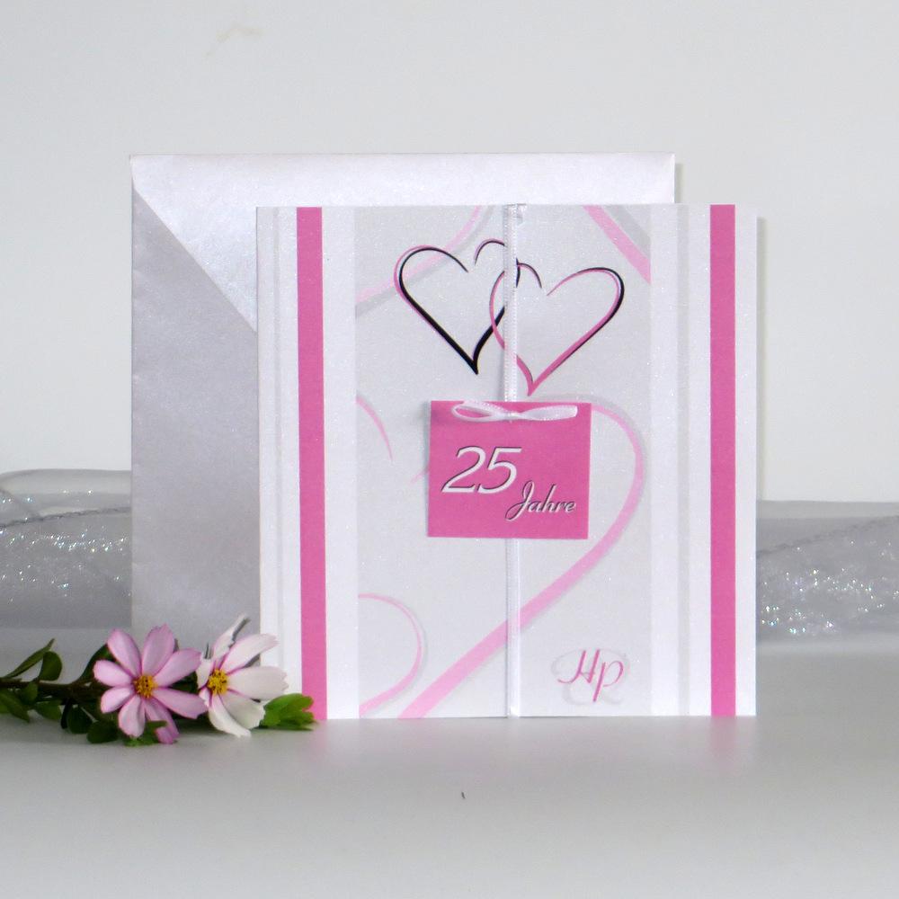 """""""25 Jahre - ich will"""" rosa"""