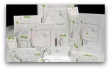 Herzzauber in braun & grün