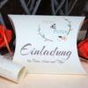 Hochzeitseinladung Amour apricot