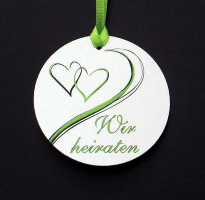 """Anhänger """"Harmonie"""" grün"""