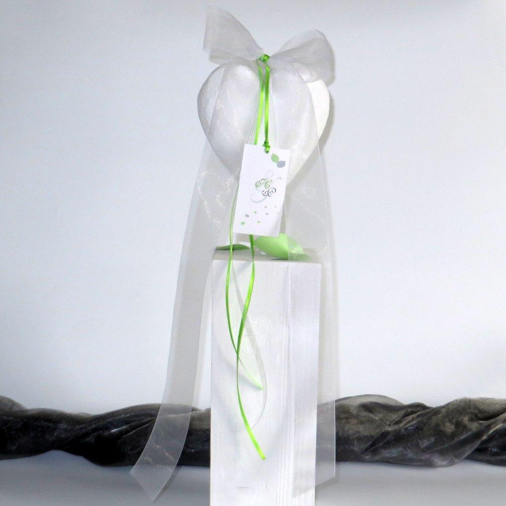 Autoschleife Blättertraum grün