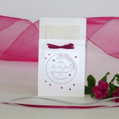 """Taschentuchtasche """"Konfetti"""" pink"""