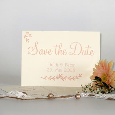 "Save the Date ""Botanik"" apricot"