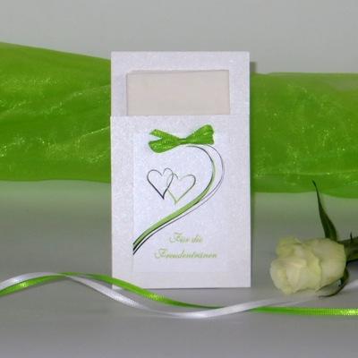 Taschentuchtasche aus der Kollektion Harmonie in grün
