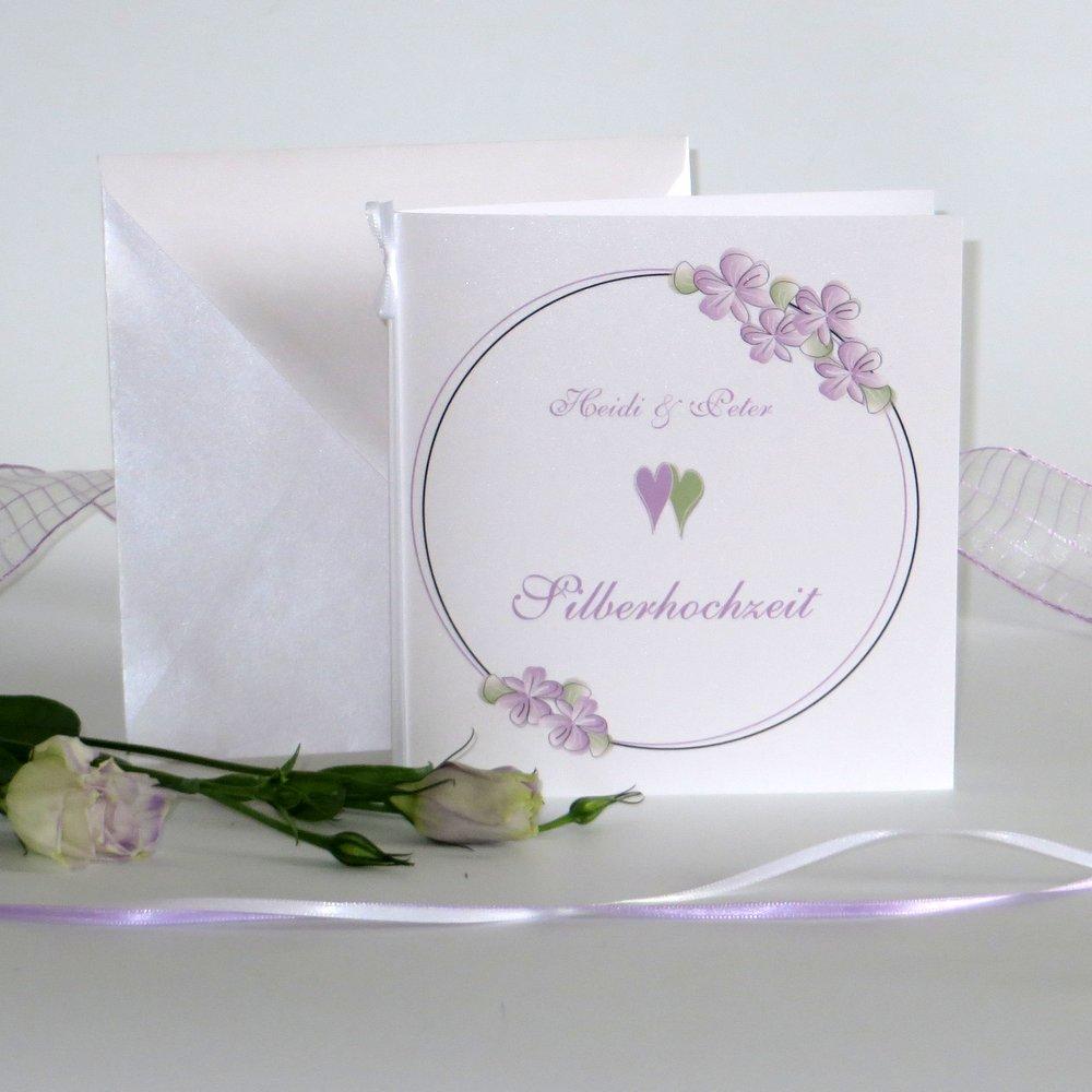 Blumenkranz flieder Silberhochzeit