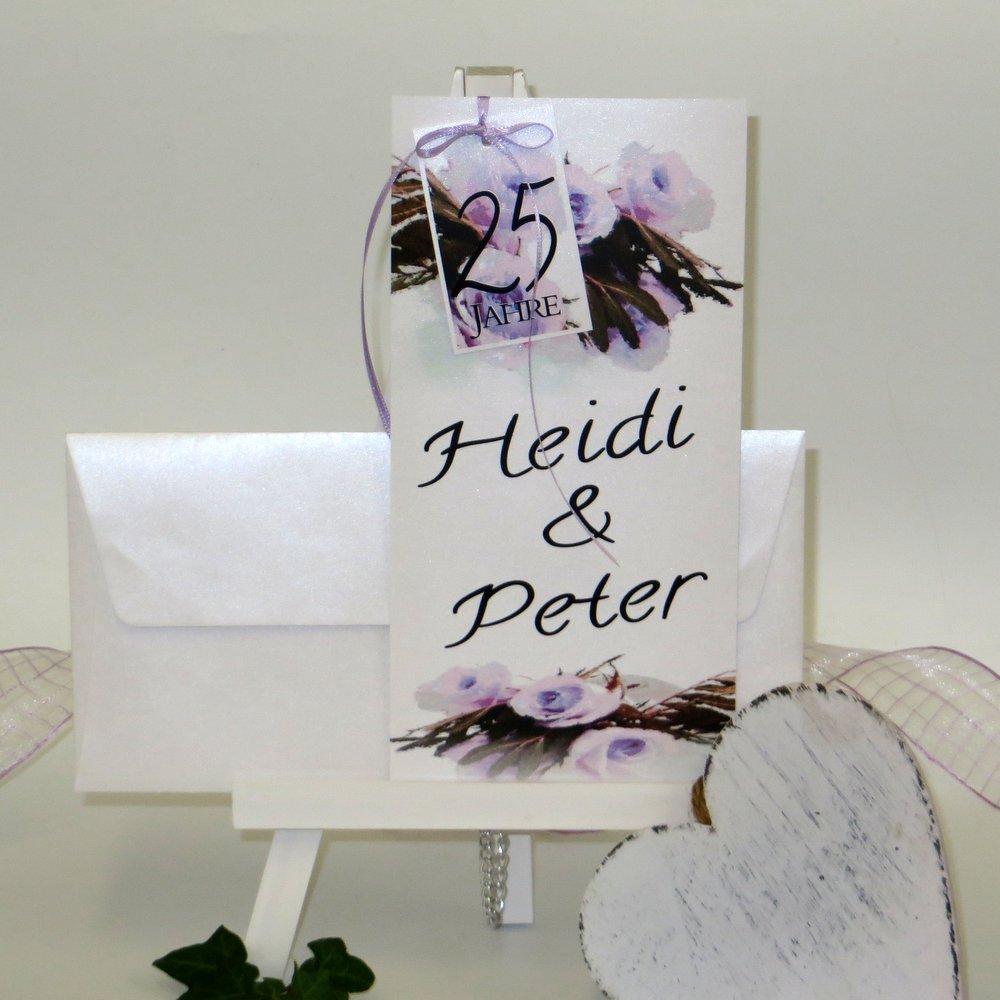 Hochzeitsrosen Flieder