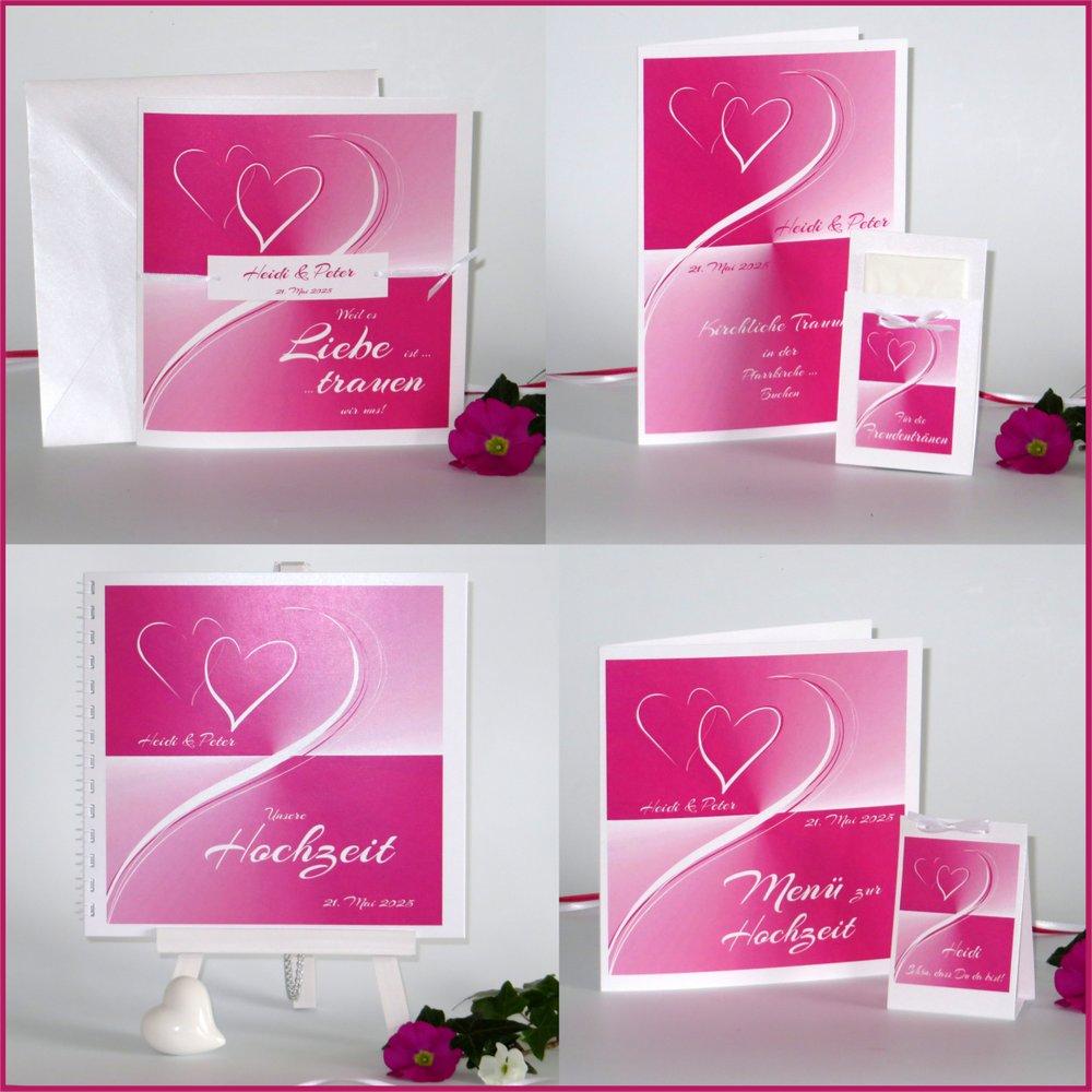 Farbharmonie pink