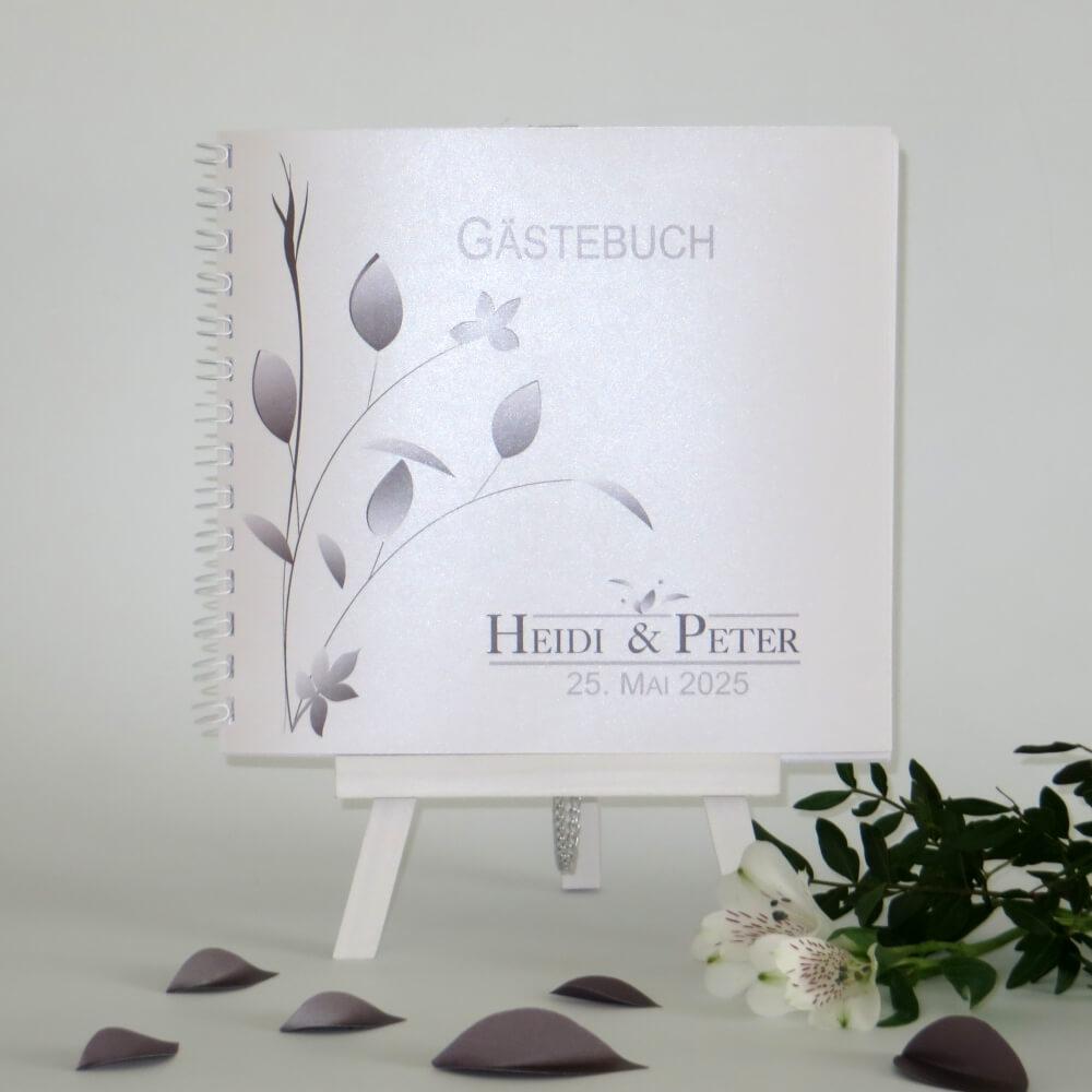 Gästebücher Silberhochzeit