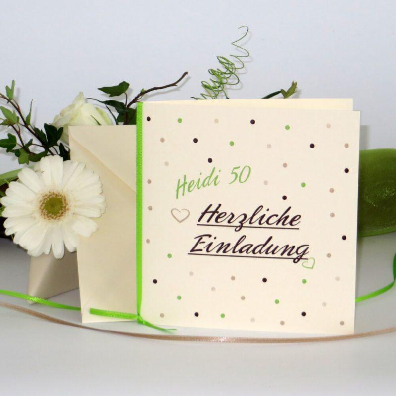 Einladungen Geburtstag