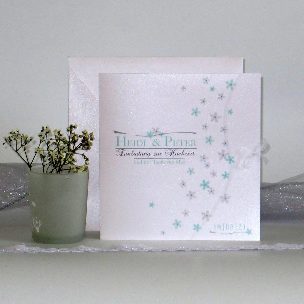 Blumenmeer mint Traufe