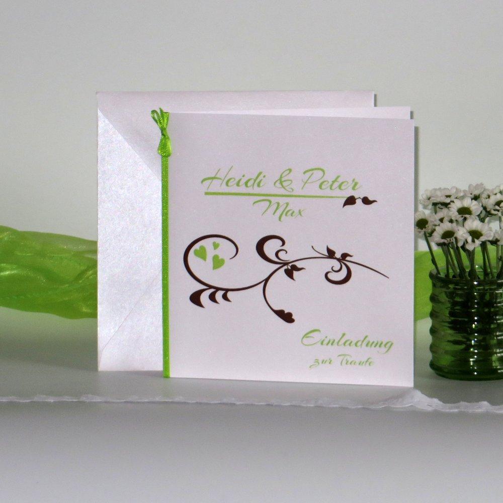 Event grün & braun Traufe