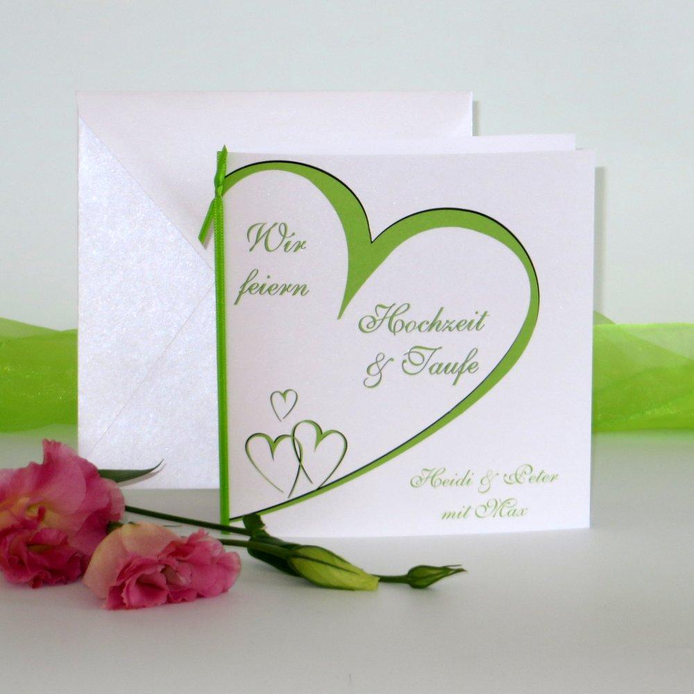 Herzschlag grün Traufe