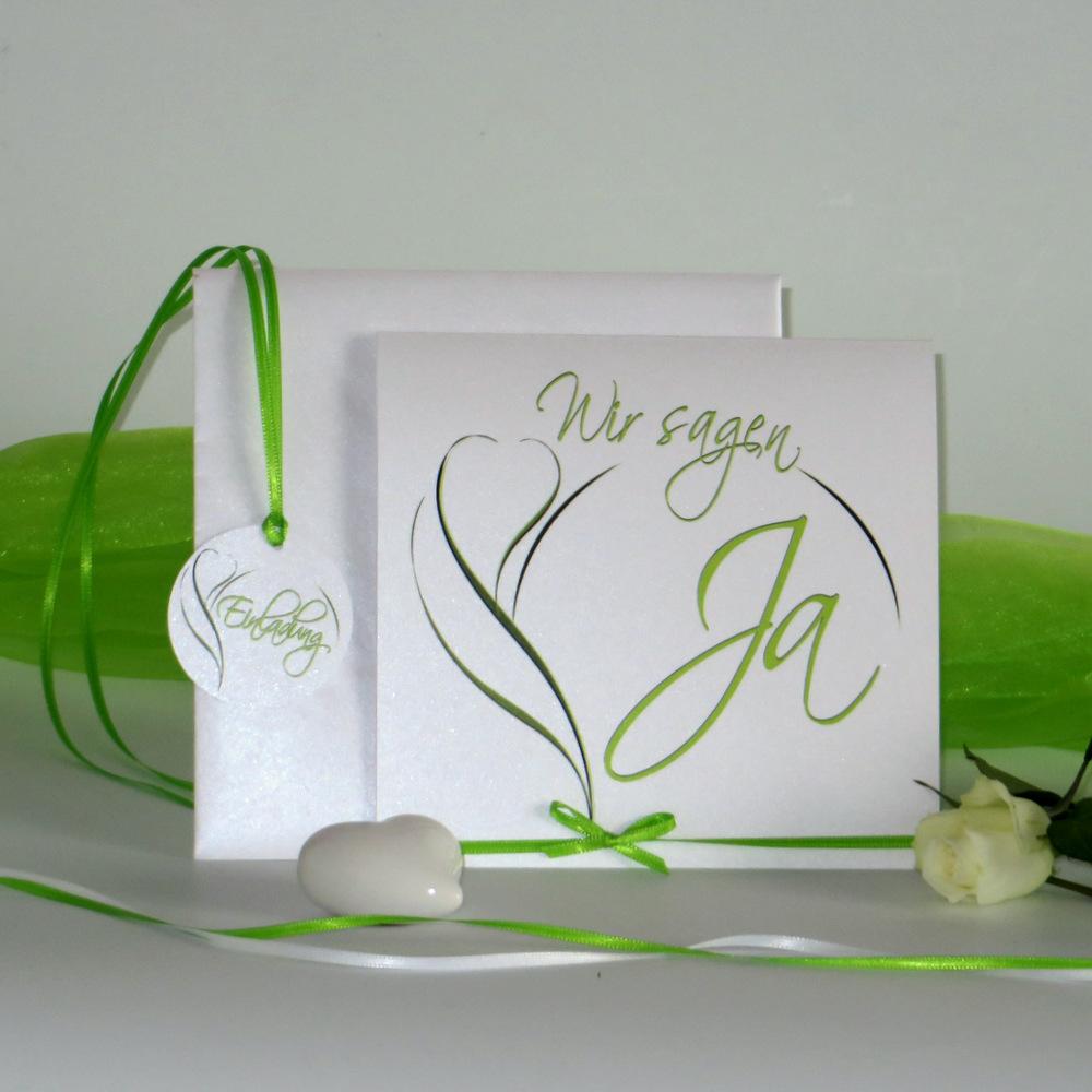 Blüte in grün