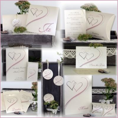 Kreative Hochzeitskarten mit dem gewissen Etwas