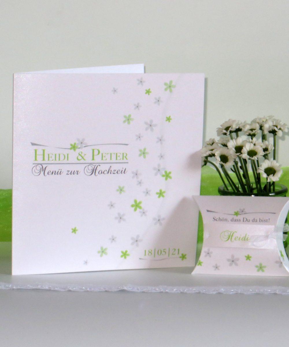 Blumenmeer grün