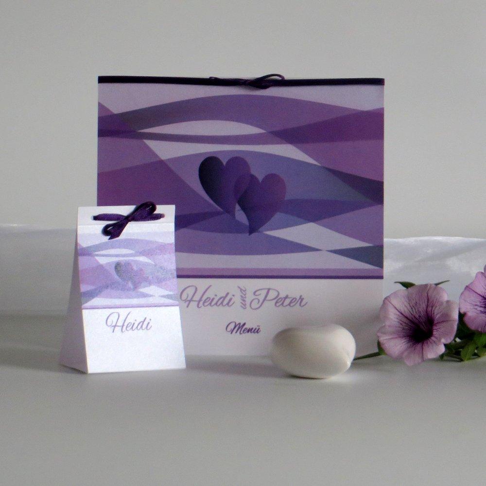 Farbenspiel lila & flieder
