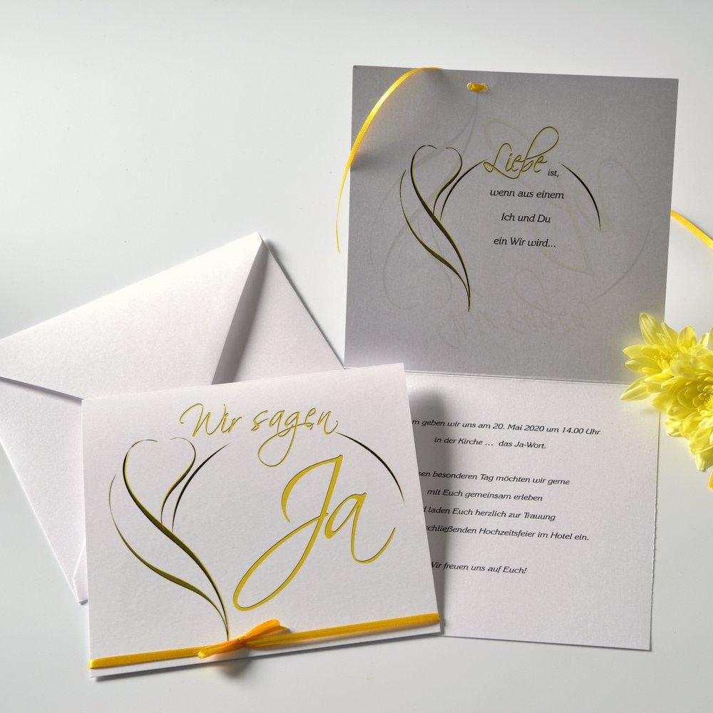 Blüte gelb und weiß