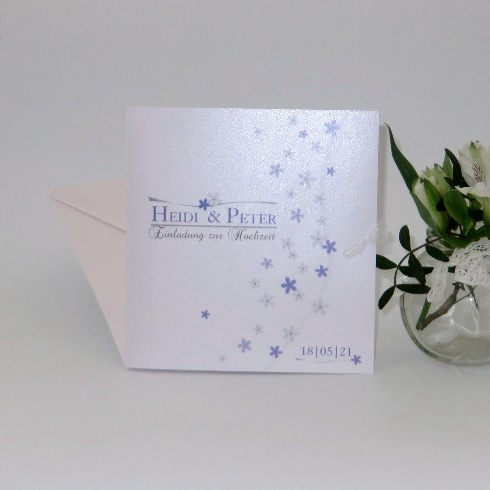 Blumenmeer flieder & grau