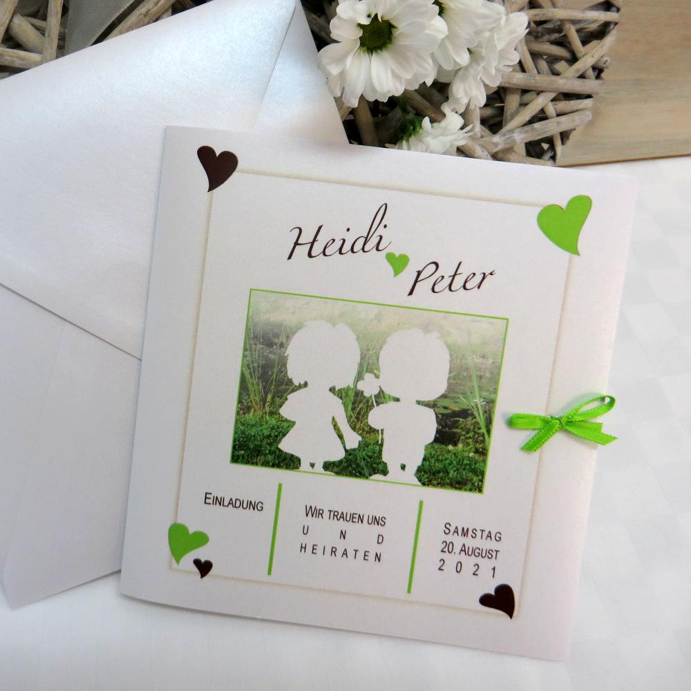 Foto-Hochzeitskarten