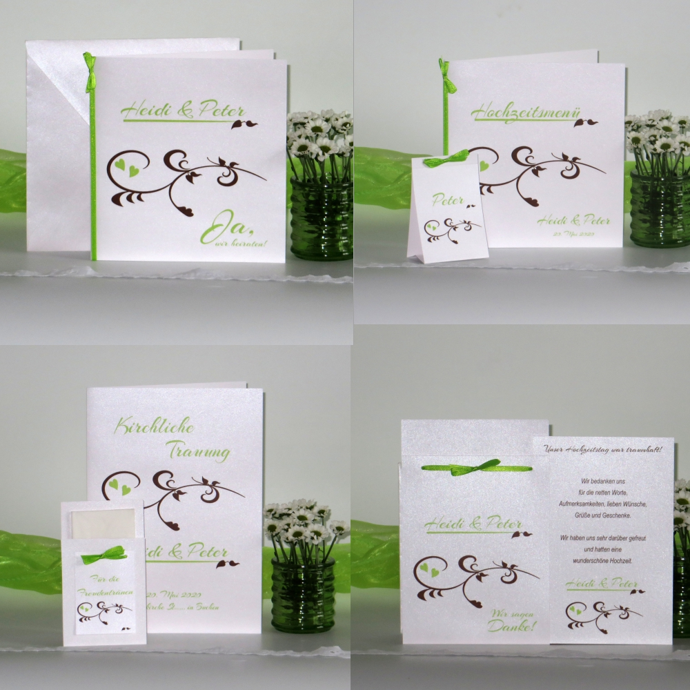 Event braun & grün