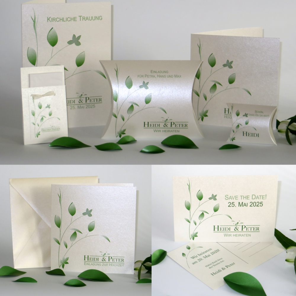 Blattwerk grün