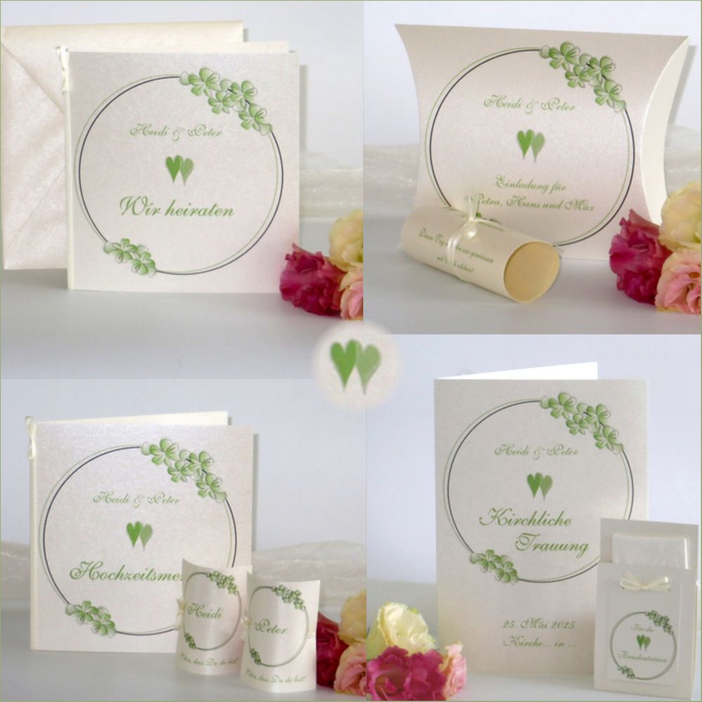 Blumenkranz grün