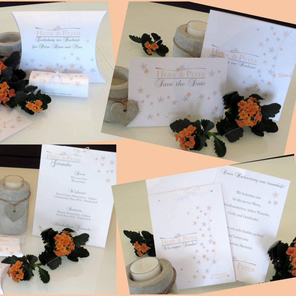 Blumenmeer apricot