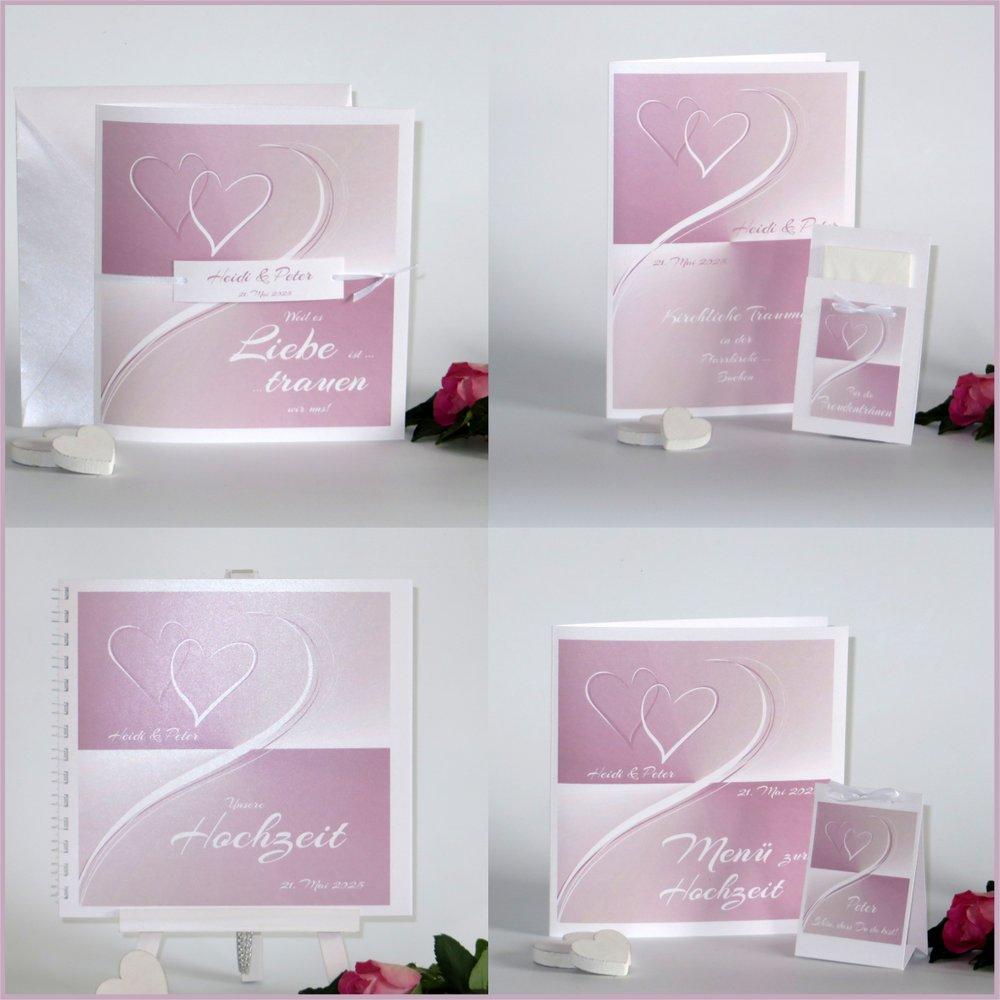 Farbharmonie rosa