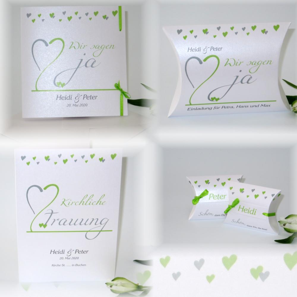 Herzblume grün