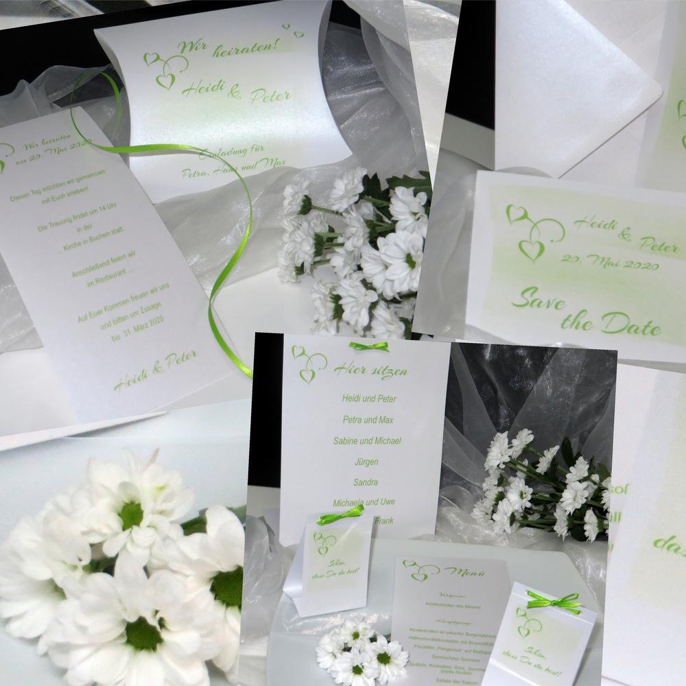 Lieblingsfarbe grün & weiß
