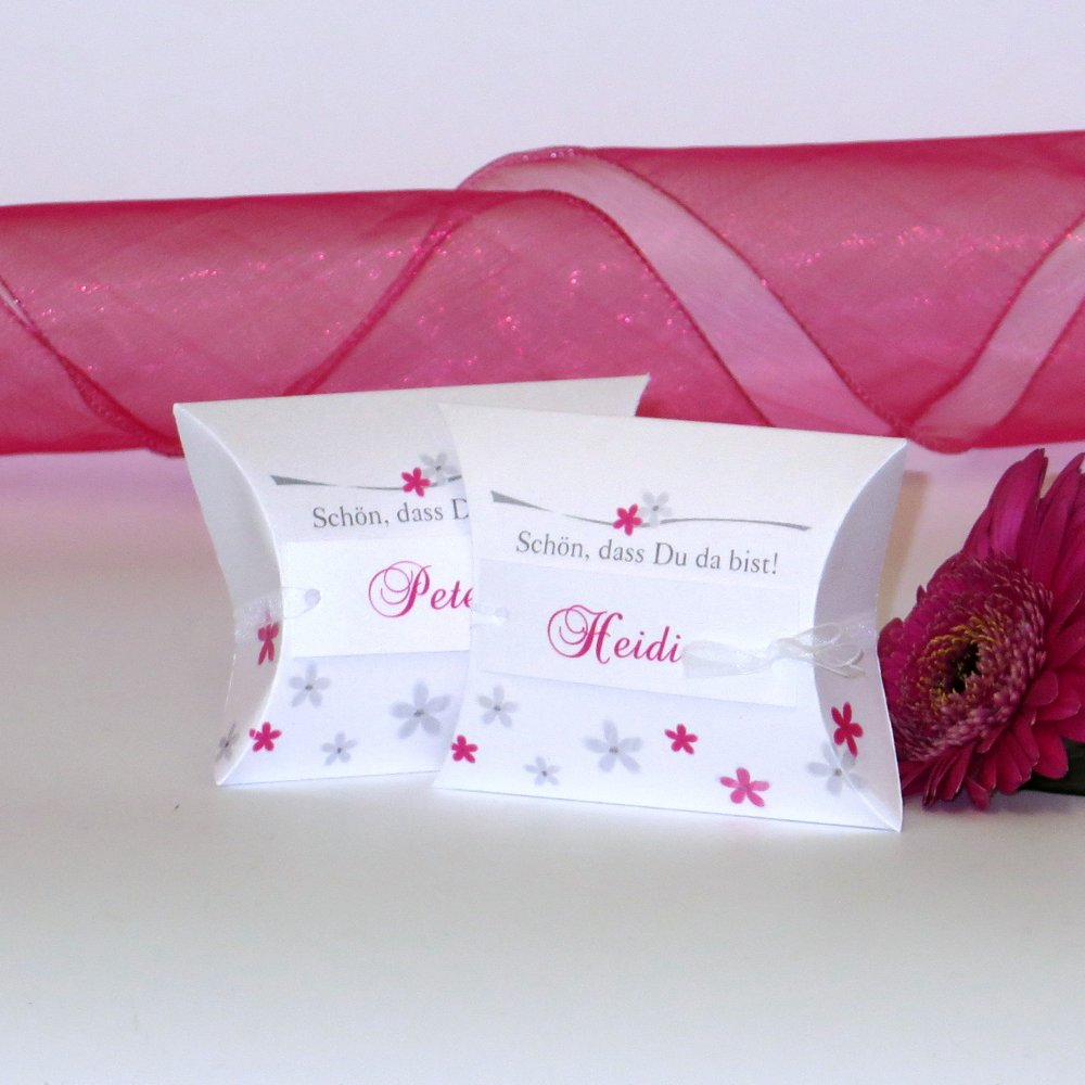 Blumenmeer pink Silberhochzeit