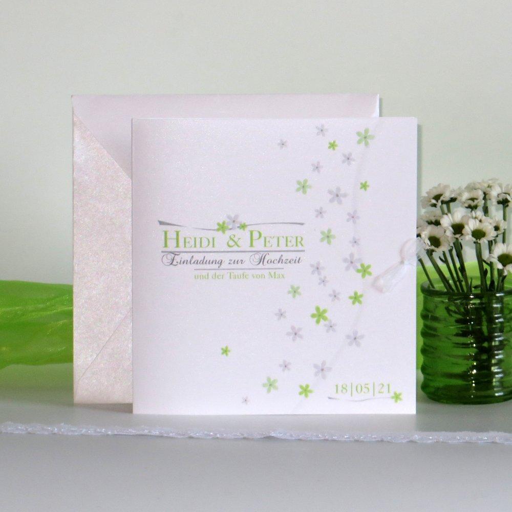 Blumenmeer grün Traufe