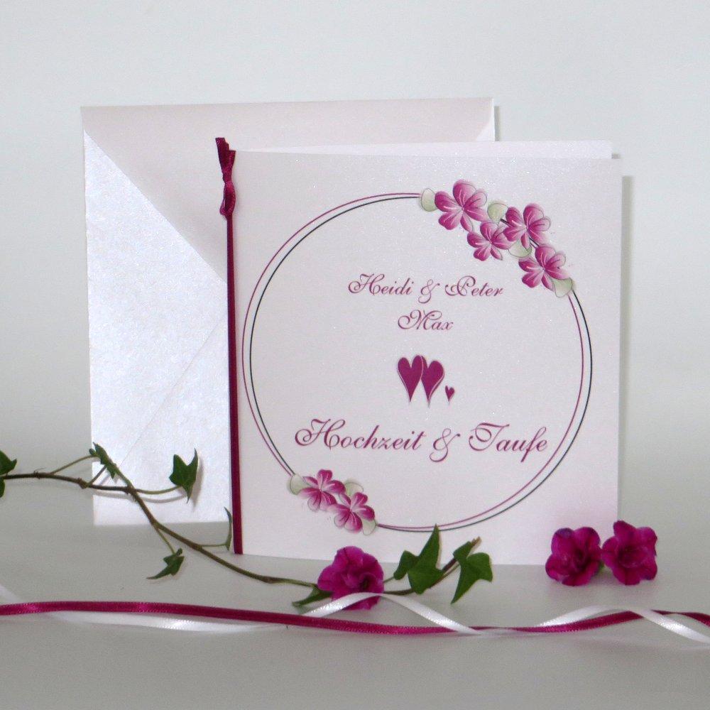 Blumenkranz pink Traufe