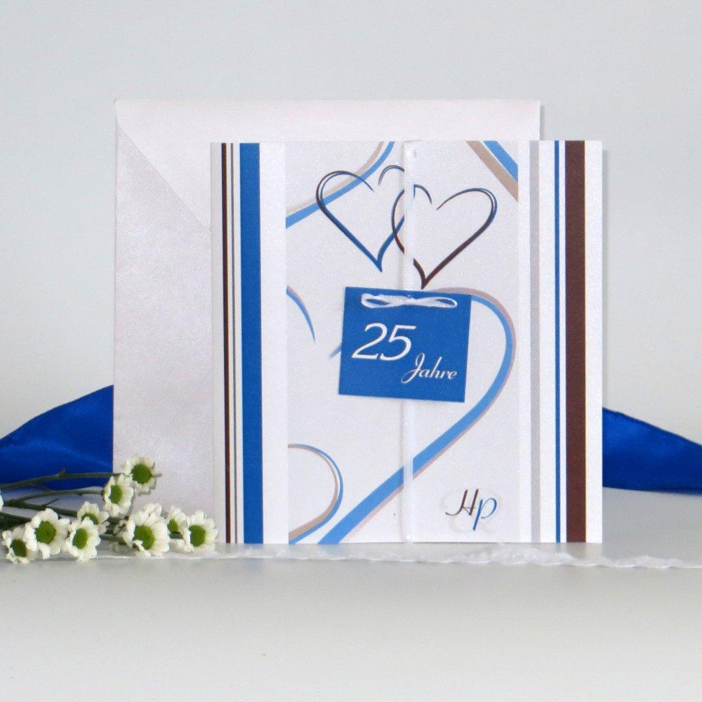 """""""25 Jahre - ich will"""" blau"""