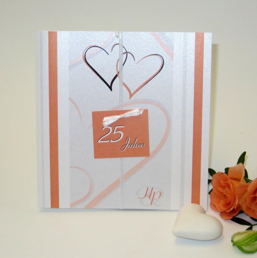 """""""25 Jahre - ich will"""" orange"""