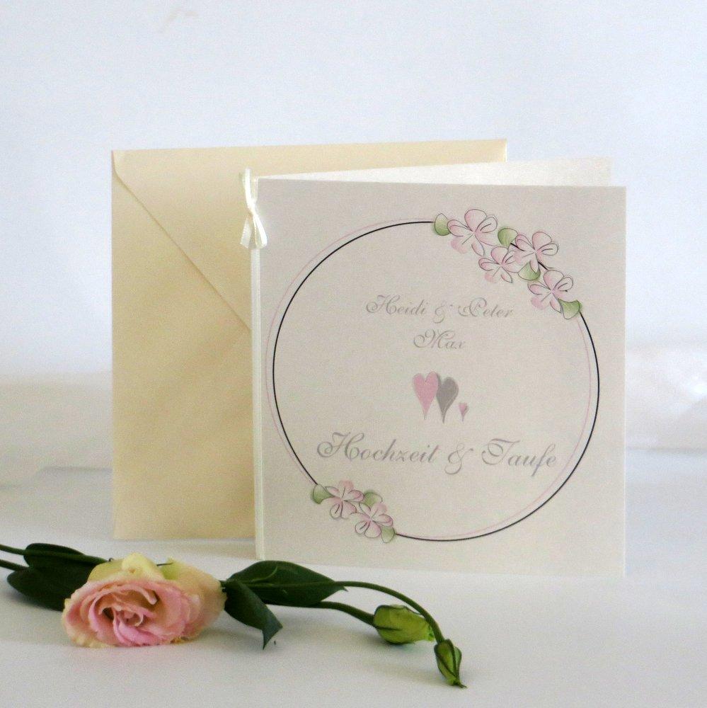 Blumenkranz rosa Traufe