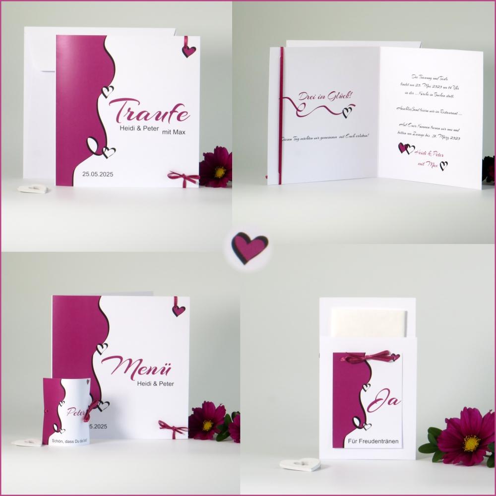 Designline pink Traufe